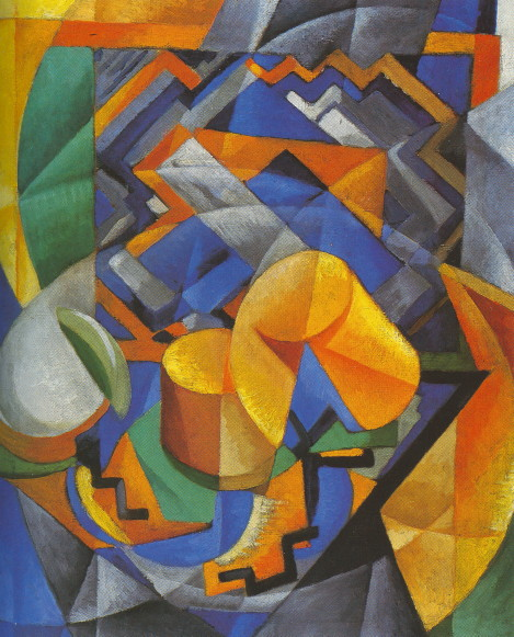 Image - Vadym Meller: Composition (1920s).