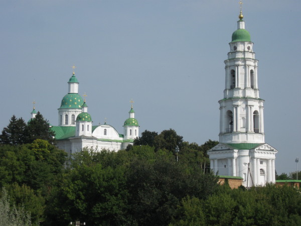 Image - A view of the Mhar Transfiguration Monastery.