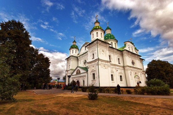 Image -- The Transfiguration Cathedral of the Mhar Transfiguration Monastery.