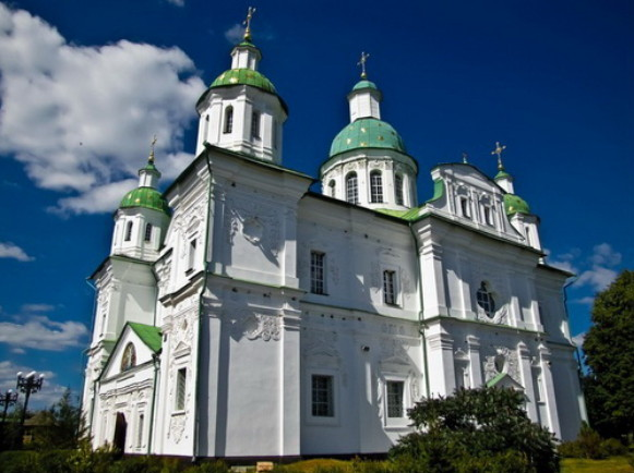 Image - The Transfiguration Cathedral of the Mhar Transfiguration Monastery.
