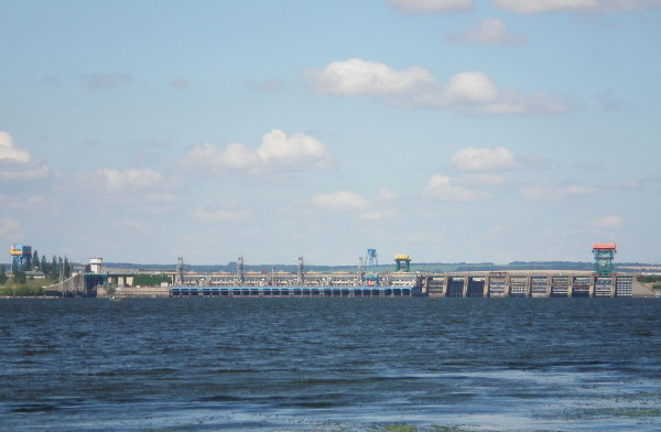 Image - The Middle Dnipro Hydroelectric Station.