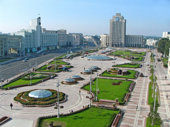 Image -- Minsk, Belarus (city center).