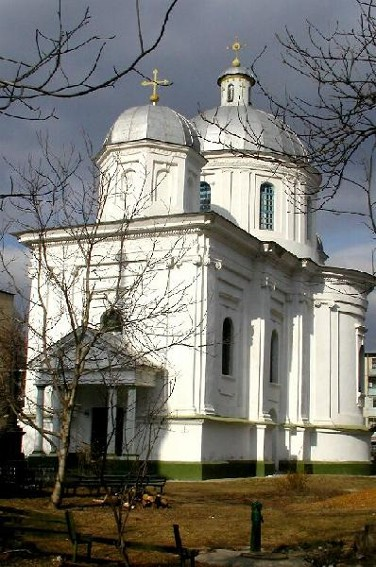 Image -- Mohyliv-Podilskyi: Saint George's Greek Church (1809-19).