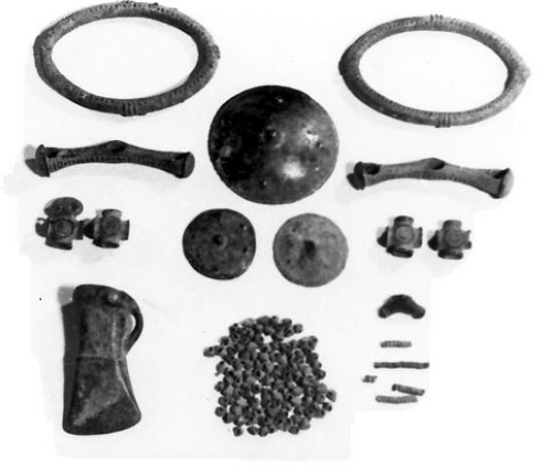 Image - Molodove V archeological artefacts.