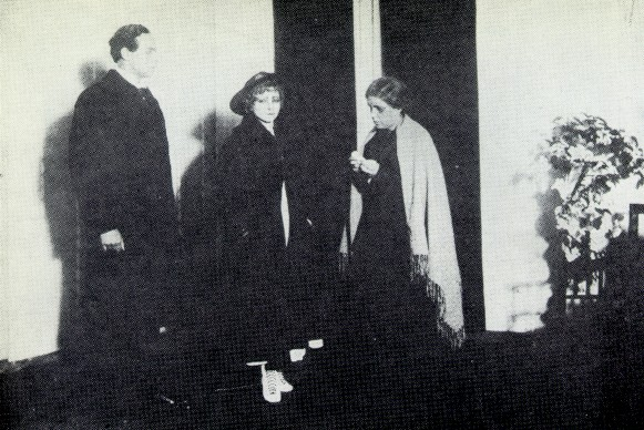 Image - A scene from the Molodyi Teatr production of Volodymyr Vynnychenko's The Black Panther and the White Bear (1918).