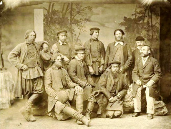 Image - A group of Russian Molokans (1870s photo).