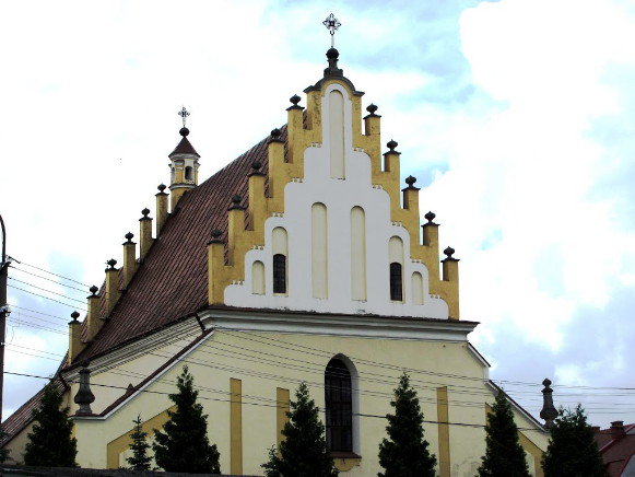 Image - Mostyska, Lviv oblast: Church of Saint John the Baptist (17th century).