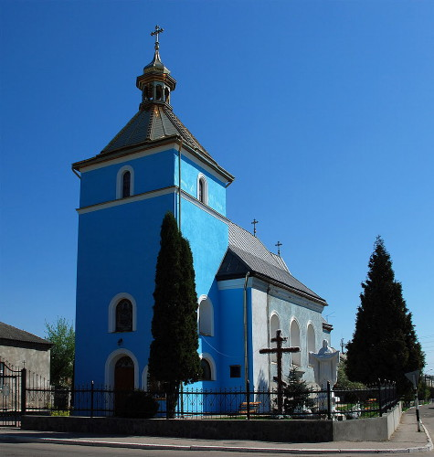 Image - Mostyska, Lviv oblast: the Dormition Church (1636).