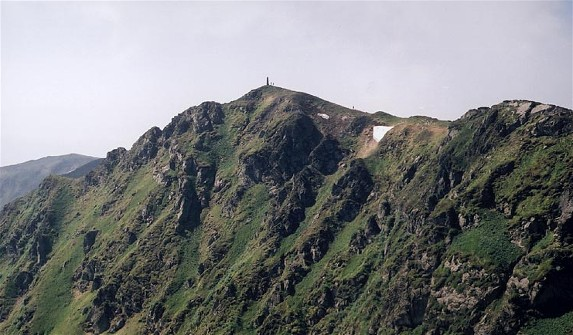 Image - The summit of Mount Pip Ivan in the Hutsul Alps (Carpathians).