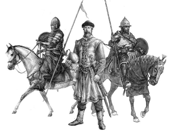 Image - Mstyslav Mstyslavych the Successful and his warriors (by V. Korolkov).