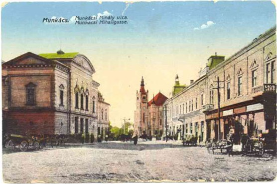 Image - Mukachevo (early 20th-century postcard).