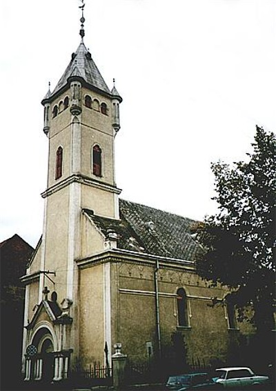 Image - Saint Nicholas Roman Catholic Cathedral (16th century) in Mukachevo.