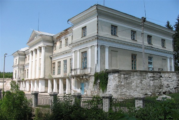 Image - The Komar family palace in the village of Murovani Kurylivtsi.