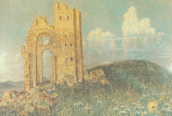 Image - Yukhym Mykhailiv: The Golden Gates (1920).