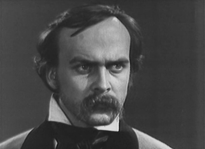 Image - Ivan Mykolaichuk as Taras Shevchenko in Volodymyr Denysenko's film Dream (1964).