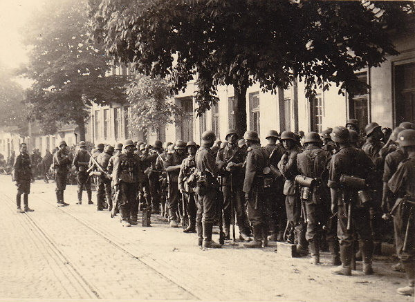 Image - The Nachtigall soldiers on the outskirts of Lviv (30 June 1941).