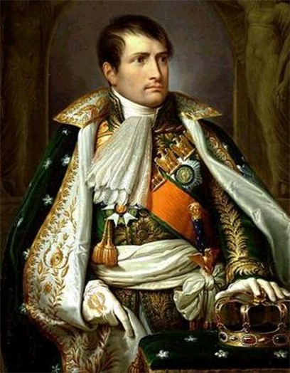 Image - A portrait of Napoleon Bonaparte.