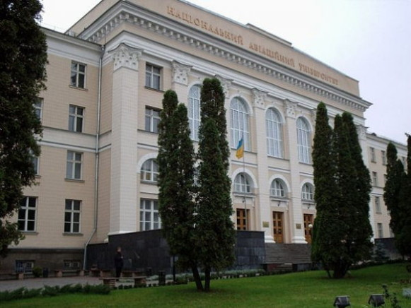 Image -- National Aviation University in Kyiv (main building).