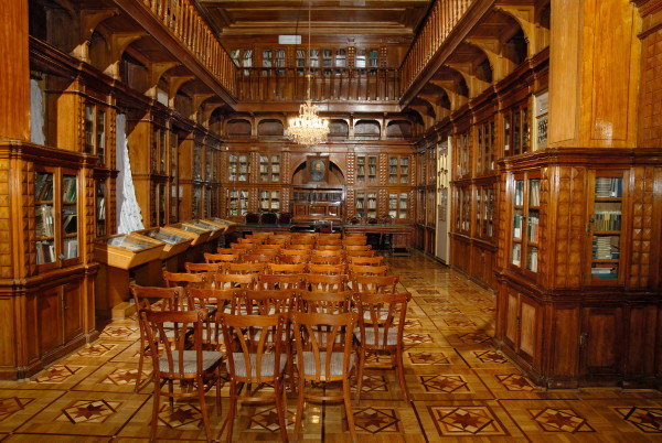 Image - National Museum of Literature of Ukraine (formerly the Galagan College) (interior).