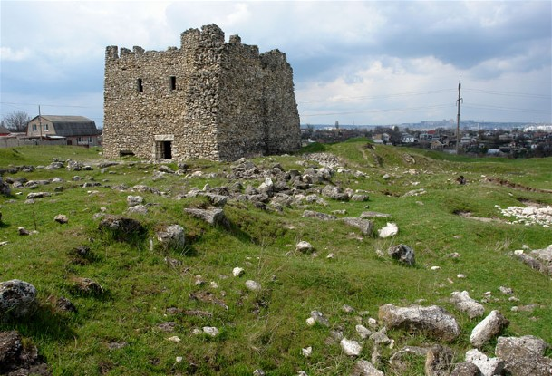 Image - The ruins of the Scythian capital of Neapolis (near Simferopol in the Crimea).