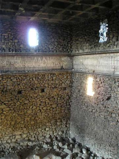 Image - The interior of the mausoleum of the Scythian rulers of Neapolis (near Simferopol in the Crimea).