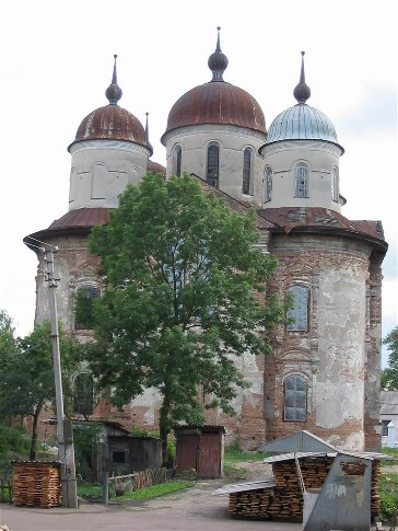Image - The Cathedral of the Annunciation (1702) in Nizhyn.
