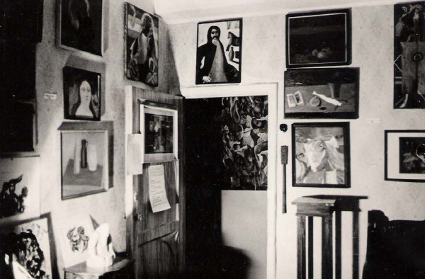 Image - The first Ukrainian Nonconformist Art Exhibition (Moscow 1975).