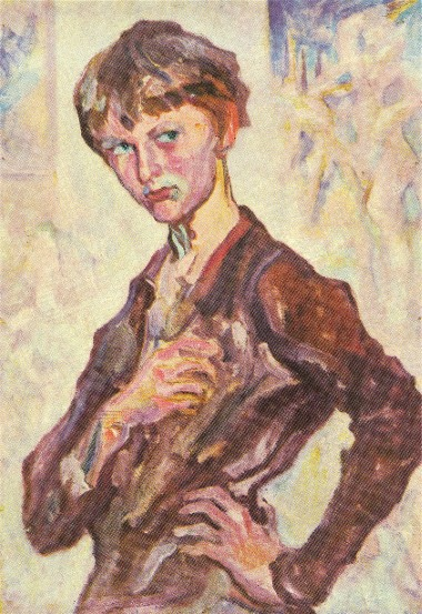 Image -- Oleksa Novakivsky: Portrait of the Artist's Son, Yaroslav (1930s).