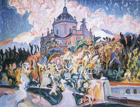 Image - Oleksa Novakivsky: The Cathedral of Saint George: A Poem of the World War (1916-22).