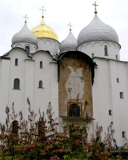 Image - The Saint Sophia Cathedral in Novgorod (11th century).