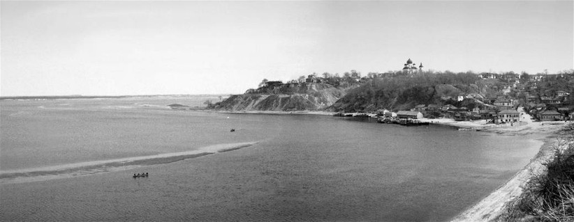 Image - The panorama of Novhorod-Siversky (photographed in April 1943 from the Military Hospital of the German Army by a German soldier; photo supplied by Hans Juergen Zeis).