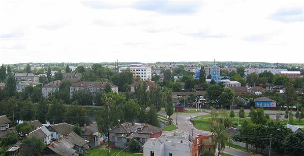 Image - Panorama of Novozybkov.