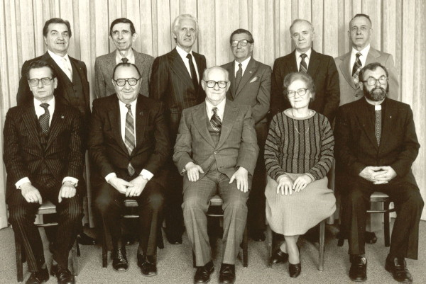 Image -- The Shevchenko Scientific Society of Canada board (1981).