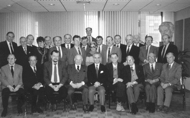 Image -- The Shevchenko Scientific Society in the US convention in New York (1987).