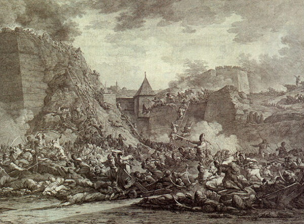 Image - The siege of Ochakiv (1788).