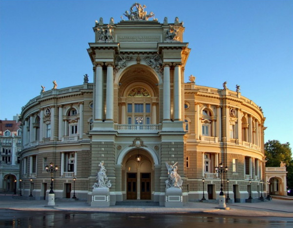 Image - The Odesa Opera and Ballet Theater.
