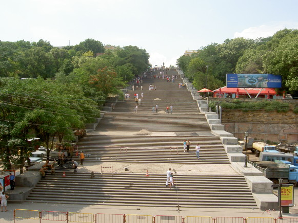 Image - Odesa: The Potemkin Stairs.