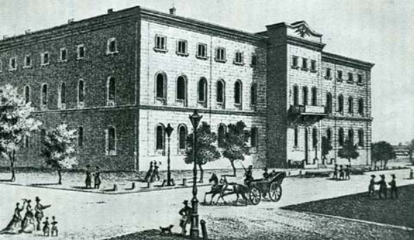 Image - The Richelieu Lyceum in Odesa (early 19th century).