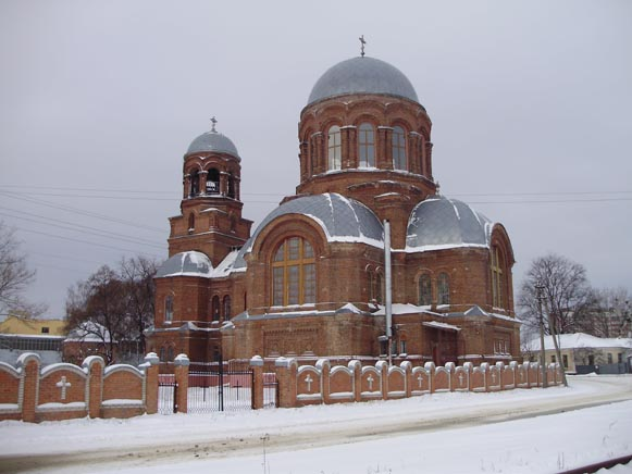 Image - Okhtyrka: Saint George's Church.