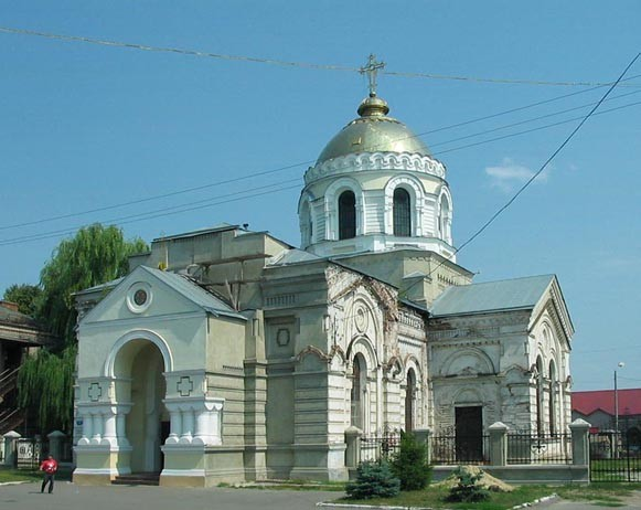 Image - Okhtyrka: the Transfiguration Church (1902-5).