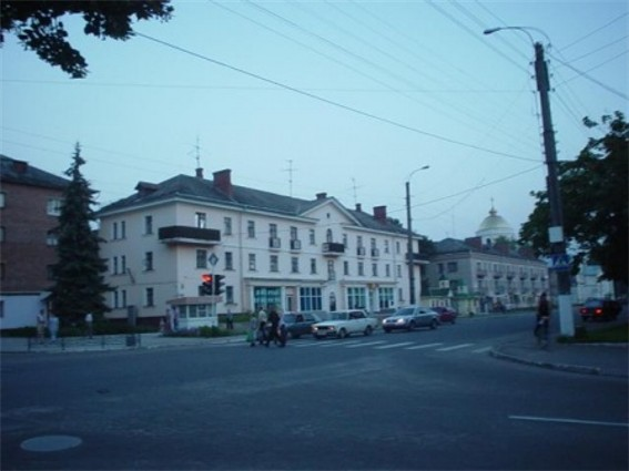 Image - Okhtyrka: city center.