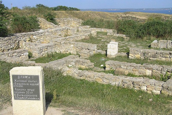 Image - Ruins of Olbia's residential district.