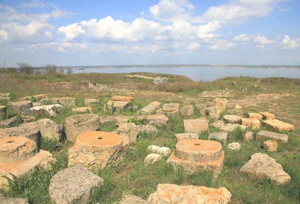 Image - The ruins of Olbia (6th century BC to 4th century AD).