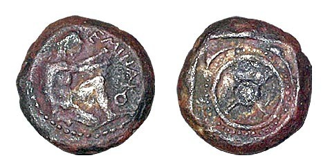 Image - A stater coin (5th century BC) found at Olbia (in the Odesa Odesa Archeological Museum).
