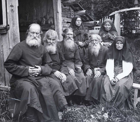 Image - Old Believers (early 20th-century photo).