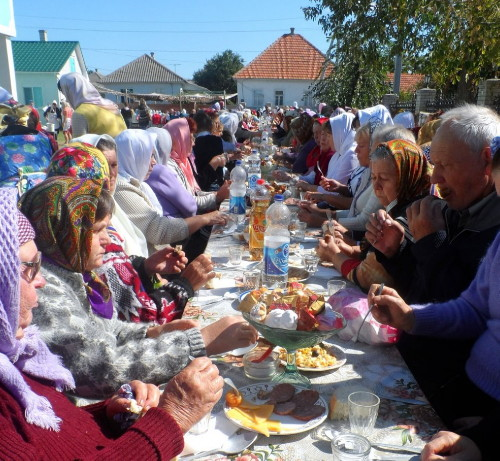 Image - An Old Believers feast in Vylkove, Odesa oblast.