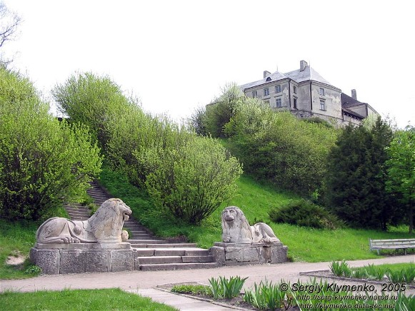 Image - The Olesko castle (13th-18th centuries) and park.