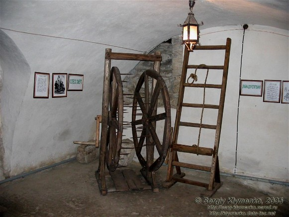 Image - A dungeon with torture machines in the Olesko castle.