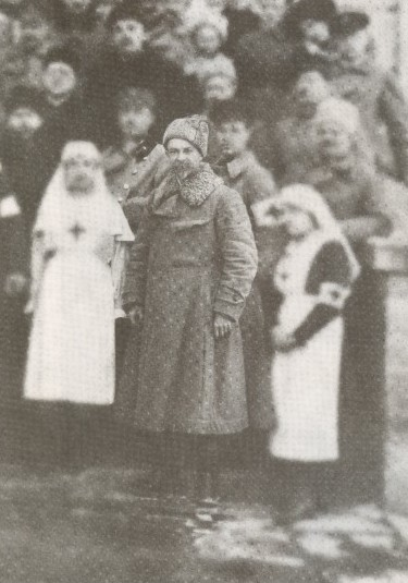 Image -- Mykhailo Omelianovych-Pavlenko after the conclusion of the First Winter Campaign (1920).