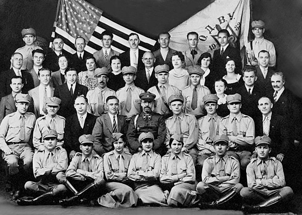 Image - Members of the Organization for the Rebirth of Ukraine (1930s).